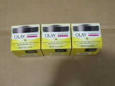 Lot of 3 Olay Complete Normal Moisturizer SPF 15 Expires 2021