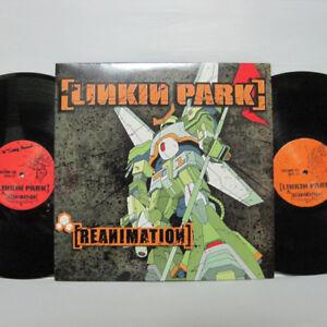 Linkin Park – Reanimation 2LP 2002 US ORIG Warner Bros. SLIPKNOT LIMP BIZKIT