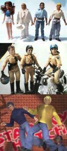 """1976 CHiPS DUKES HAZZARD STARSKY & HUTCH 8"""" mego figure -- PANTS SHIRT SUIT VEST"""
