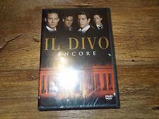 ENCORE BY IL DIVO (DVD, 2005) *****BRAND NEW*****