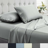Sweet Home Collection Percale 100% Egyptian Cotton Sheet Set 200 Thread Count