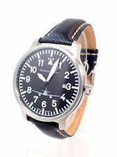 ARISTO MESSERSCHMITT  ME-262-42S Flieger Uhr Lederarmband Herrenuhr