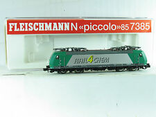 Fleischmann N 85 7385K E-Lok BR 185 RAIL4CHEM 4 Pantographen B4495