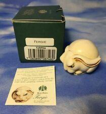 Harmony Kingdom Fergie Rabbit Bunny TJRPRA Roly Polys Retired Figurine