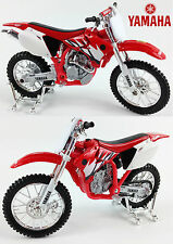 YAMAHA YZF-450 1:18 Die-Cast Motocross Enduro MX Toy Model Bike Red NEW MAISTO