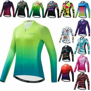 Cycling Jersey Long Sleeve Full Sleeve Bicycle Shirt Quick Dry Bike Top Clothing