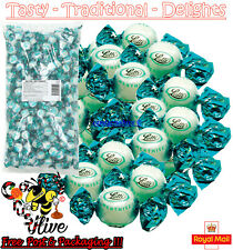 6g - 10kg Lutti Peppermint Mint Cream Fondants Sweets Clarnico Retro Candy