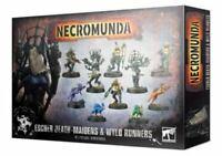 Necromunda: Escher Death-Maidens and Wyld Runners - Warhammer 40k - New! 300-66