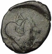 Lampsakos in Mysia 400BC Rare Ancient Greek Coin Female head Pegasus  i47863