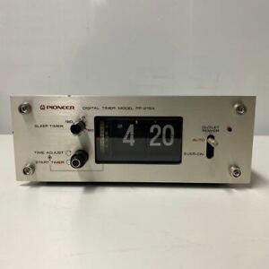 Pioneer PP-215A Digital timer model Alarm Flip Clock Vintage Audio Equipment