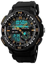 Skmei HMWA05S093C0 Analog-Digital Men's Sports Watch Black Strap Black Dial