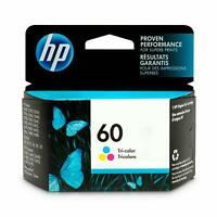 GENUINE HP 60 Tri-color Ink Cartridge (CC643WN) EXPIRES 12/2020 BRAND NEW