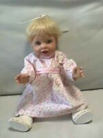 """Playmates ~ Amazing Babies 14"""" Interactive Baby Doll Smart Response System 2000"""