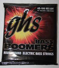 GHS : Jeu de cordes BASSE BASSE BOOMERS MED LIGHT 45-100 - ML3045