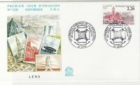 France 1987 Nat Congress Stamp Lens Pic Slogan Cancels + Stamp FDC Cover Rf31661