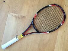 Yonex rqis tour 1 95 4 3/8 Tennis Raquet Racket 16x18 Isometric Leather grip