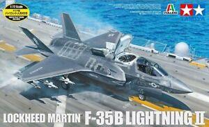 Tamiya 1/72 F-35B Lightning II Lockheed Martin Plastic Assembly Model #60791