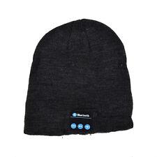 Warm Bluetooth Beanie Hat Smart Soft Music with Built in Wireless Headphones Cap