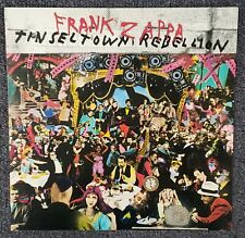 Frank Zappa Tinseltown Rebellion 1981 CARDBOARD PROMO POSTER FLAT