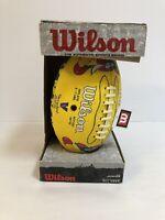 Vienna Beef Wilson Junior Football Extremely Rare Brand New Advertisement
