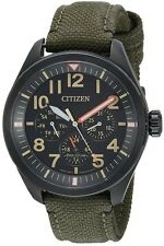 Citizen Eco-Drive Military Nylon Mens Watch BU2055-16E