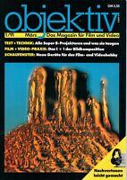 OBJEKTIV - Magazin für Film und Video 1 / 91 - Zeitschrift Super 8 Film - B10854