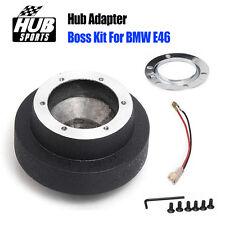 Boss Kit 6 Hole Steering Wheel Hub Adapters DIY For BMW E46 3 Series Mini Cooper