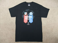 RARE Champions League Chelsea Football Club Semi Final 2014 Black T Shirt Medium