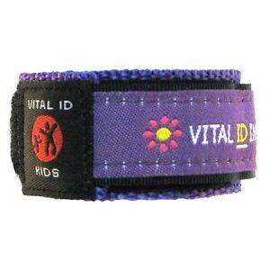 Vital ID Child Safety Fabric Wristbands