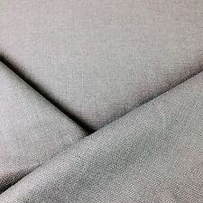 100% Belgian Linen Upholstery Fabric Chalet / Cement By The Yard