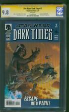 Star Wars Dark Times 2 CGC 9.8 SS David Prowse Darth Vader Remark 11/2006