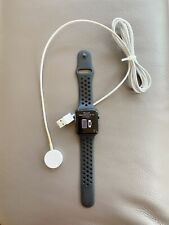 Apple Series 3 GPS and Cellular Space Aluminum Watch - Black With Nike Band