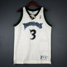 100% Authentic Stephon Marbury Vintage Starter Wolves Jersey Size 48 XL Mens