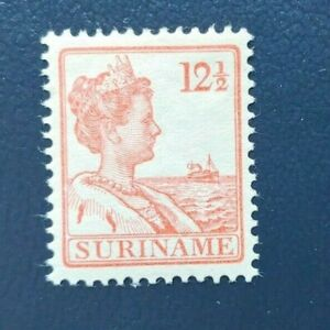 CLASSIC QUEEN 121/2CT VF MNH NEDERLAND NETHERLANDS SURINAME B976.9 $0.99