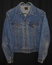 Vtg. Lee 101J Trucker Jean Jacket Indigo Denim Small 36