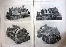 1924 Geared Turbines For The Twin Screw Orient Liner Orama