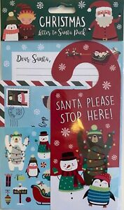 FATHER CHRISTMAS & FRIENDS Christmas Letter to Santa Pack