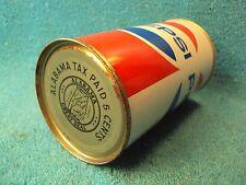 Vtg RARE Alabama Tax Beer Pepsi Error Mistake Zip Pull Top Tab ? Steel Side Can