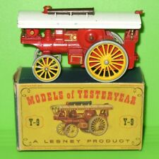 Matchbox Yesteryears / Y9 Fowler Showman's Engine / Boxed