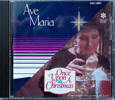 AVE MARIA cd Once Upon A Christmas Pamela Wilson MINT RARE OOP IMPORT W Germany