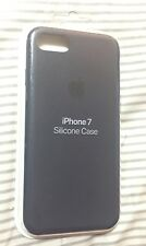 New Authentic Apple Silicone Case for iPhone 7 / 8 - MIDNIGHT BLUE