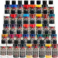 39 Createx 2oz Wicked Colors Airbrush Paint Kit with Reducer