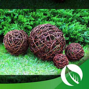Weidenkugel Weidenball Gartendeko Kugel Rebenkugel Dekoration Garten 10 bis 50cm