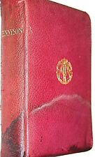 1905 TENNYSON THE POETICAL WORKS OF ALFRED LORD TENNYSON WARD LOCK & CO