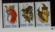 Indonesia Sc 1182-4 NH issue of 1982 - Birds