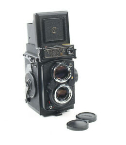 Yashica Mat-124G Medium Format Camera - Excellent Condition with Case/Hood