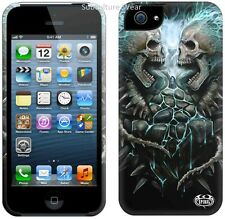Spiral FLAMING SPINE Apple iPhone 5/5S Mobile Phone Case/Cover biker/tattoo