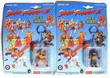 ESZ4867 STREET FIGHTER II Zangief & Dhalsim Key Chains from Placo Toys (1992) }}