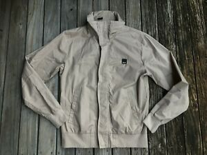 #19 New BENCH Medium Mens Casual Jacket Beige Quality Cotton
