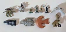 Galoob Star Wars and Other Lot - 4 Figures, Animals, and Spacecraft